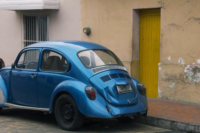 sinine auto