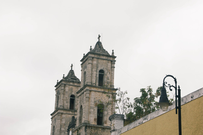 kirikud mehhikos