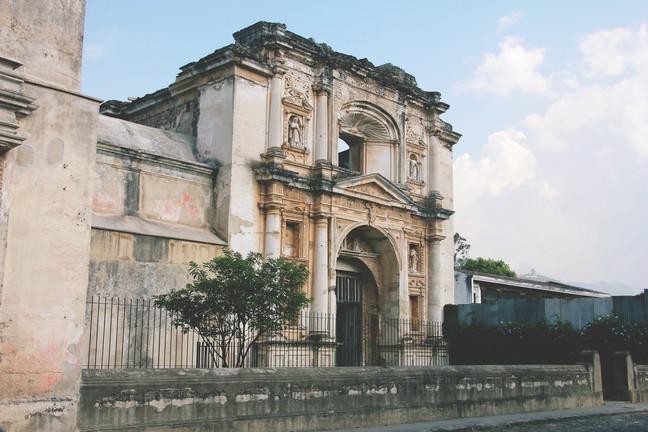 vanaaegne maja antiguas guatemalas