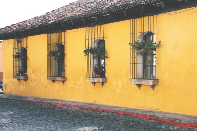 kollane maja