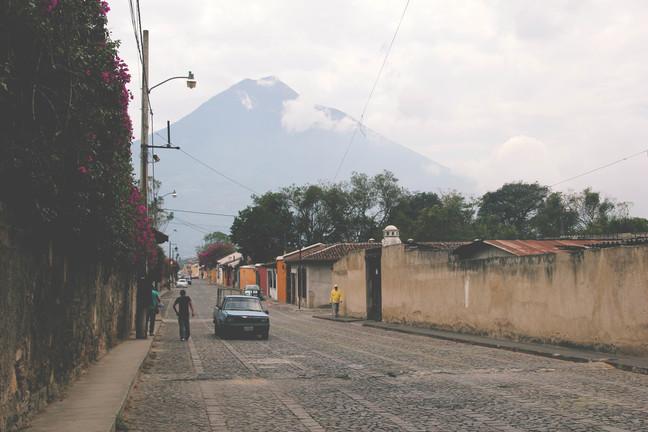 guatemala linnatänav