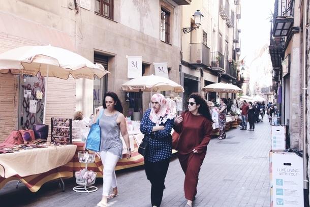 barcelona linnatänavad