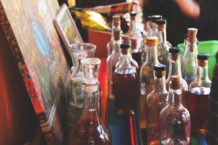 pudelid täis veini