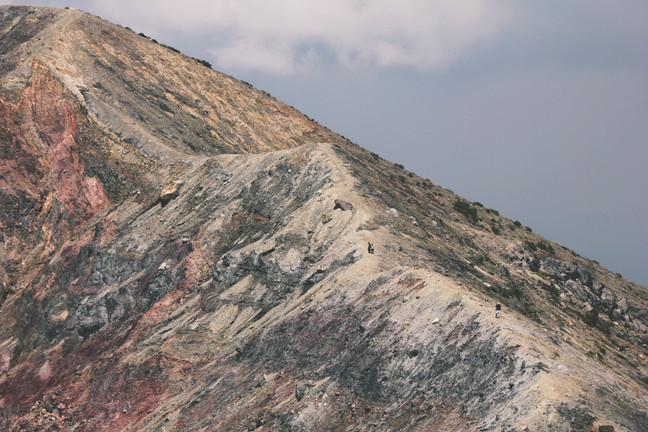 vulkaaniline maastik