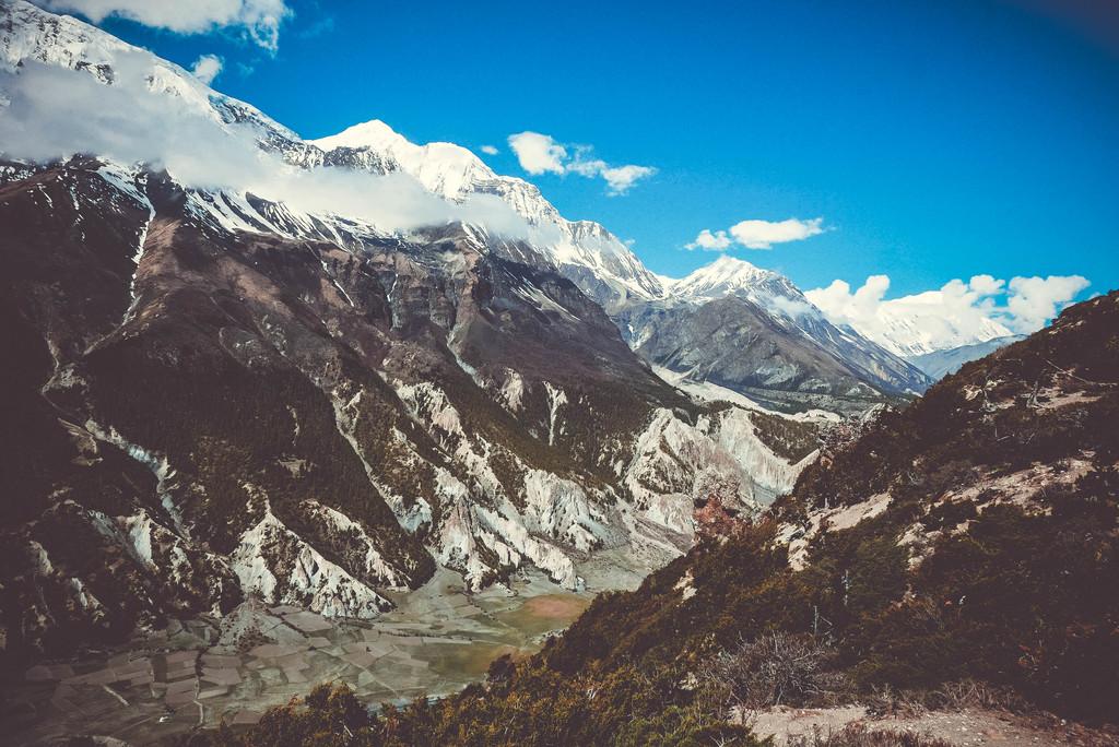 suured mäed annapurna ringil