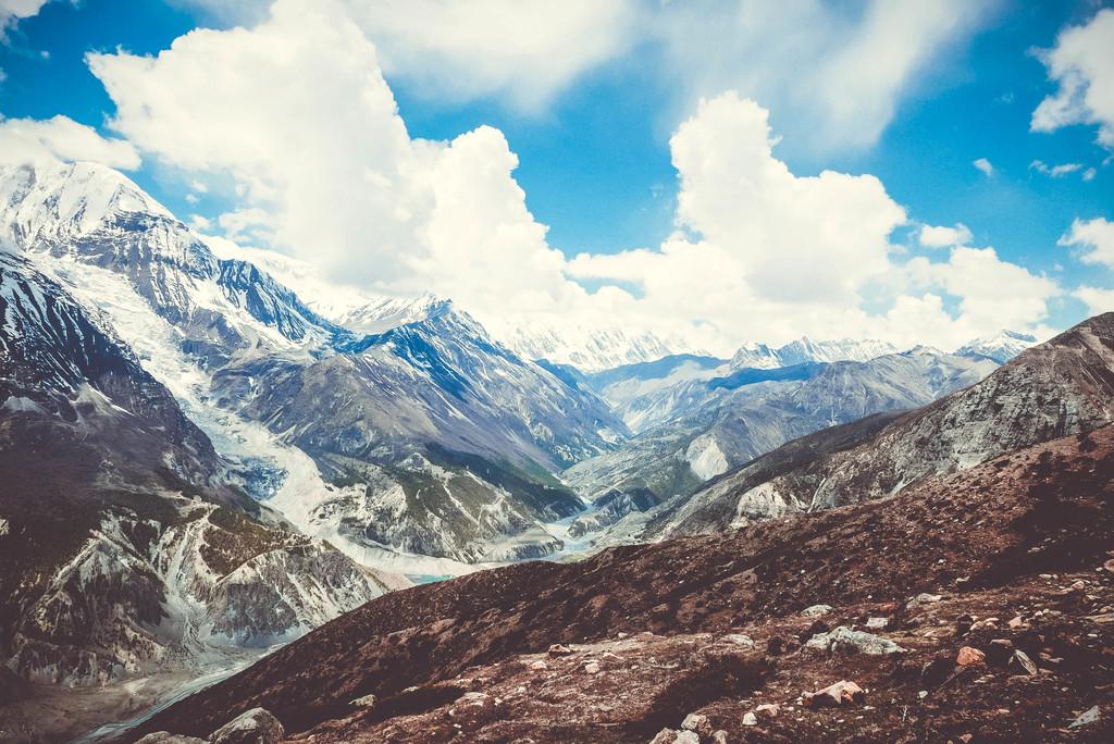 looduspildid himaalaja mägedest