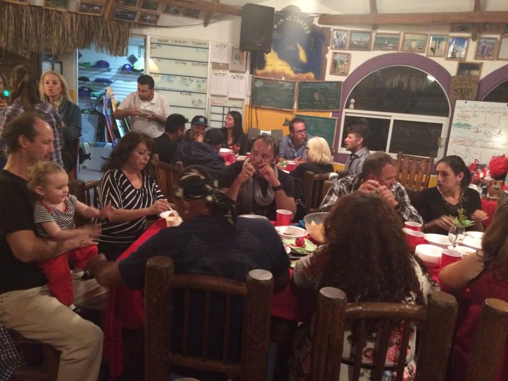 õhtusöök perega