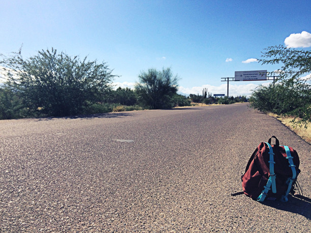 seljakott maanteel
