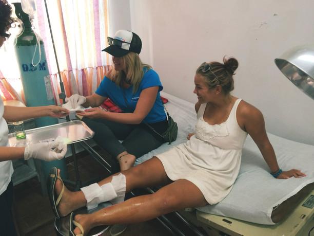 mehhikos haigla külastamine