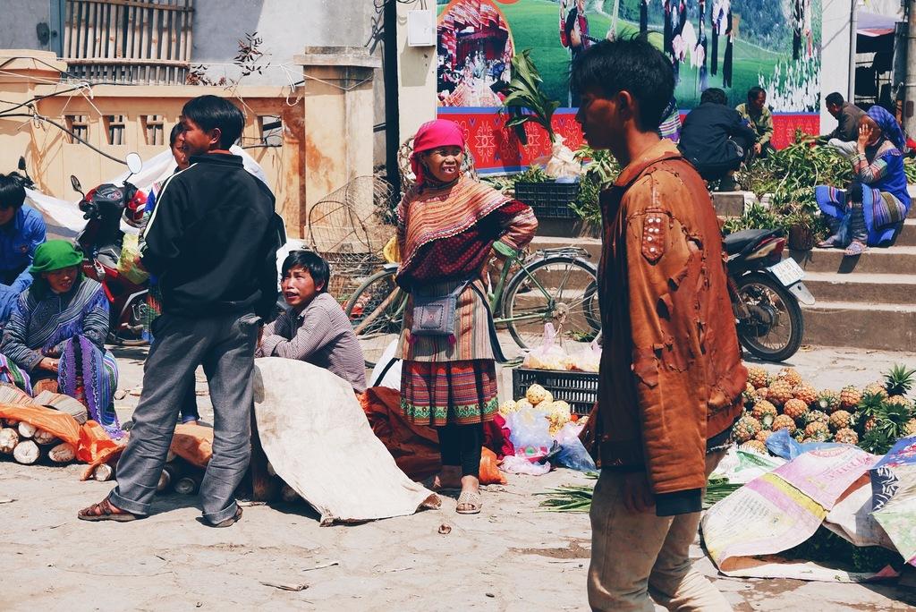vietnami inimesed turul