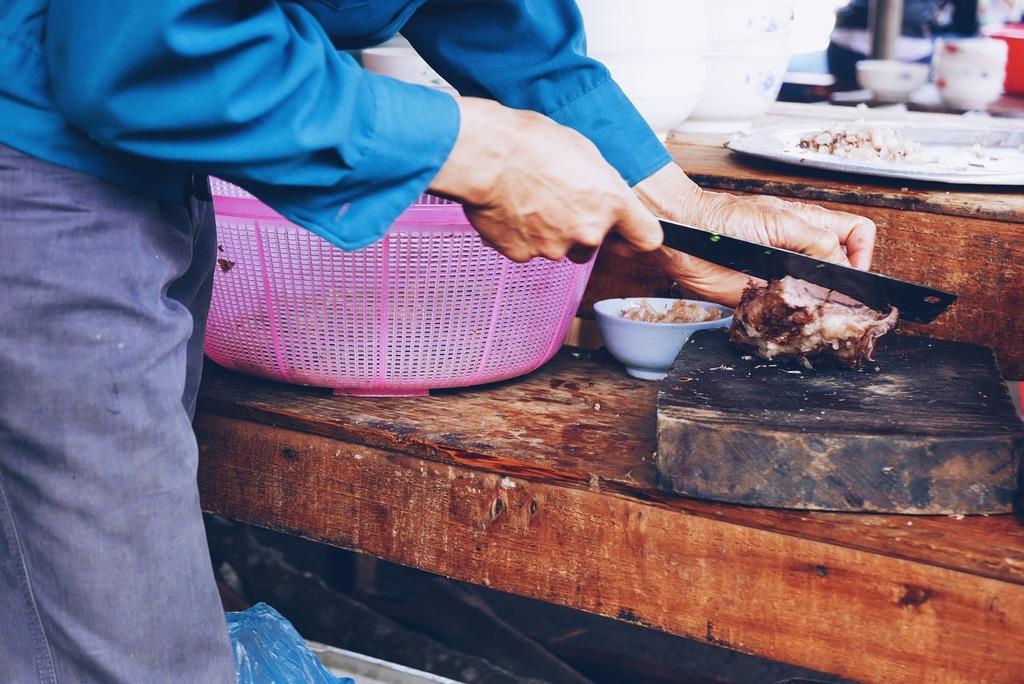 liha lõikamine