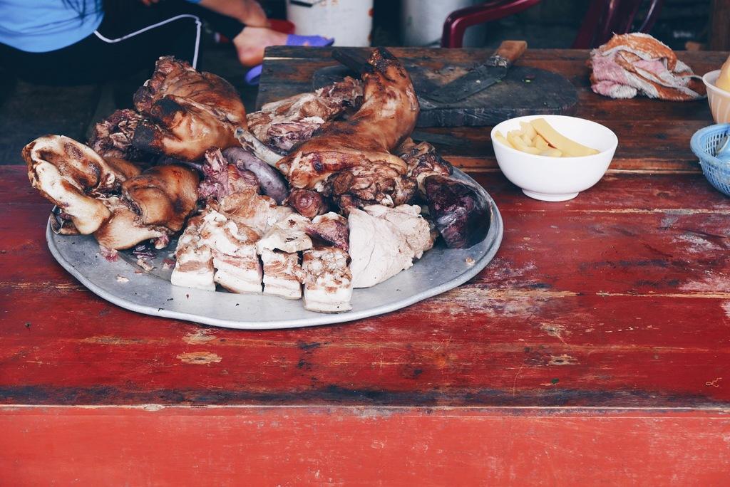 lõigatud liha