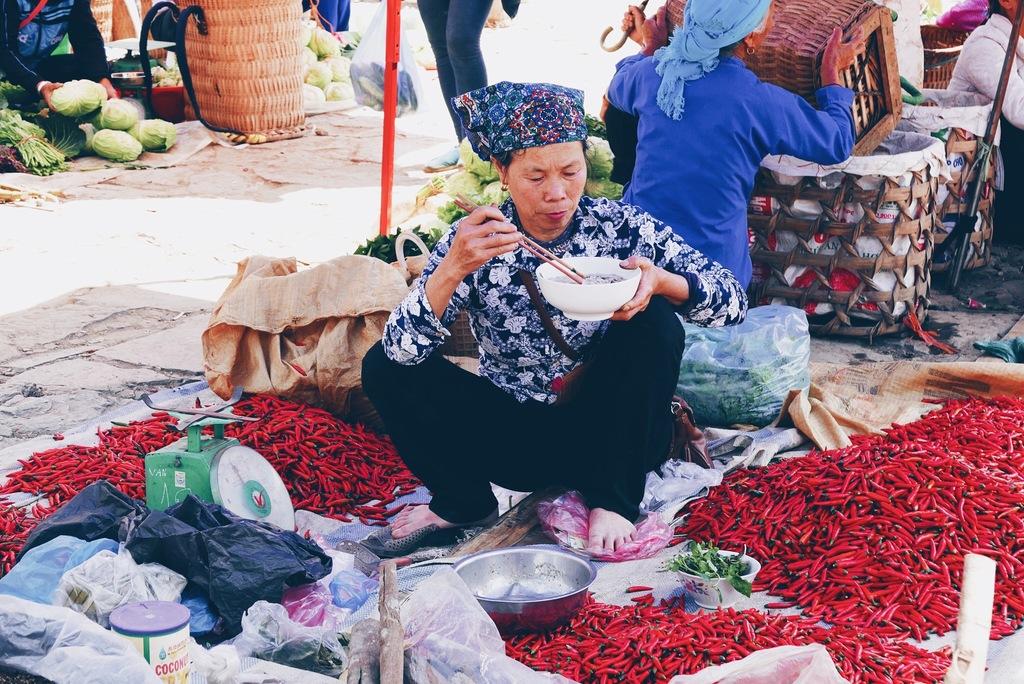 vietnami naine turul