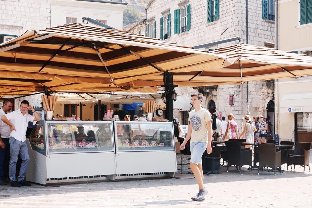 kotor linnake montenegros