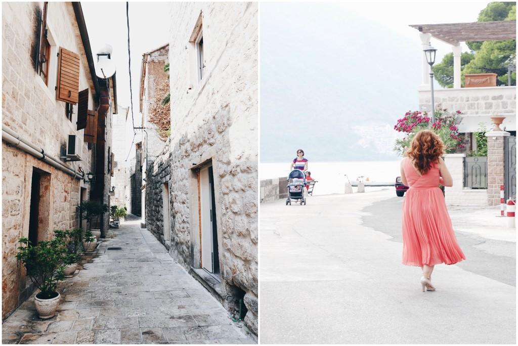 naine roosas kleidis