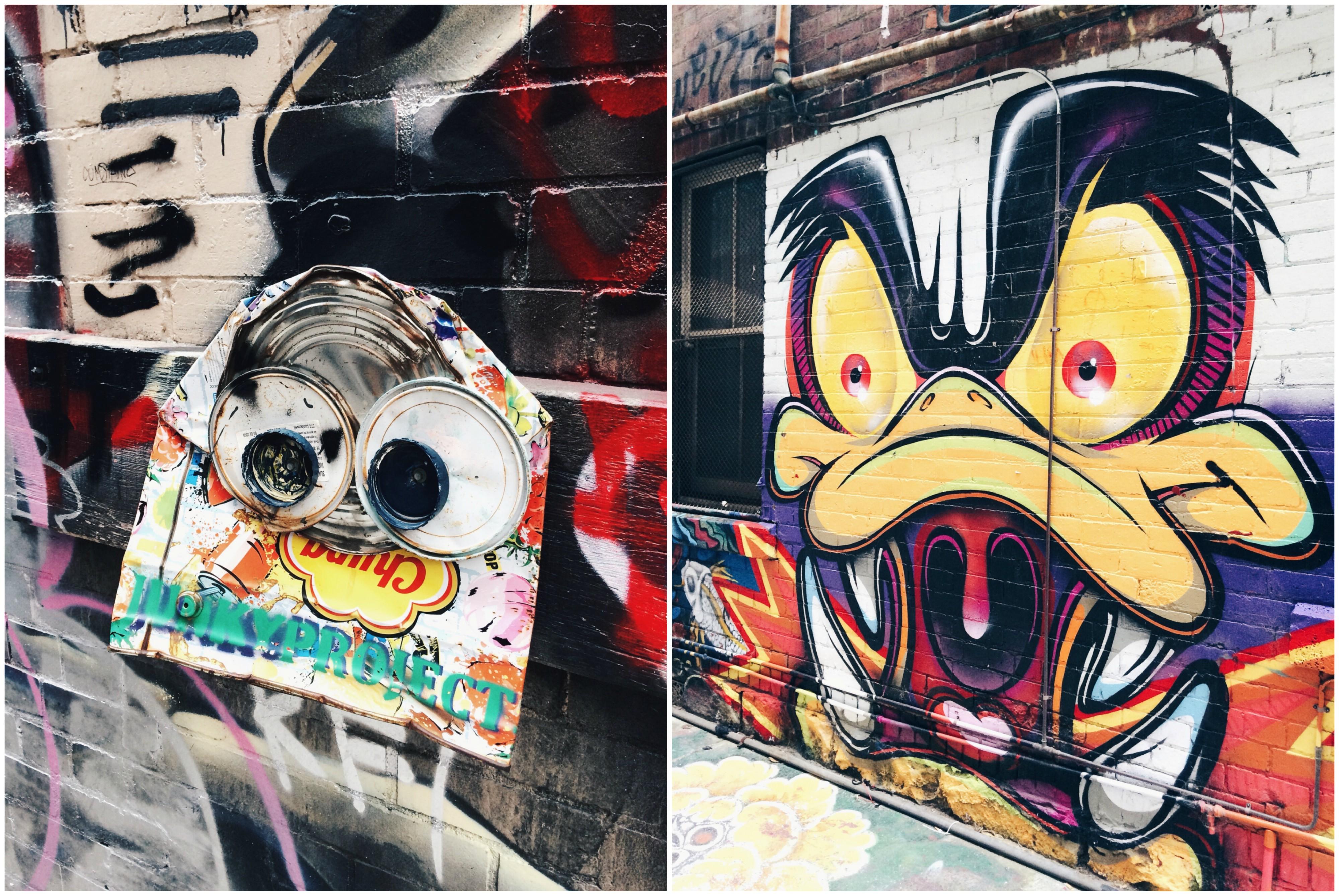 tänavakunst austraalias