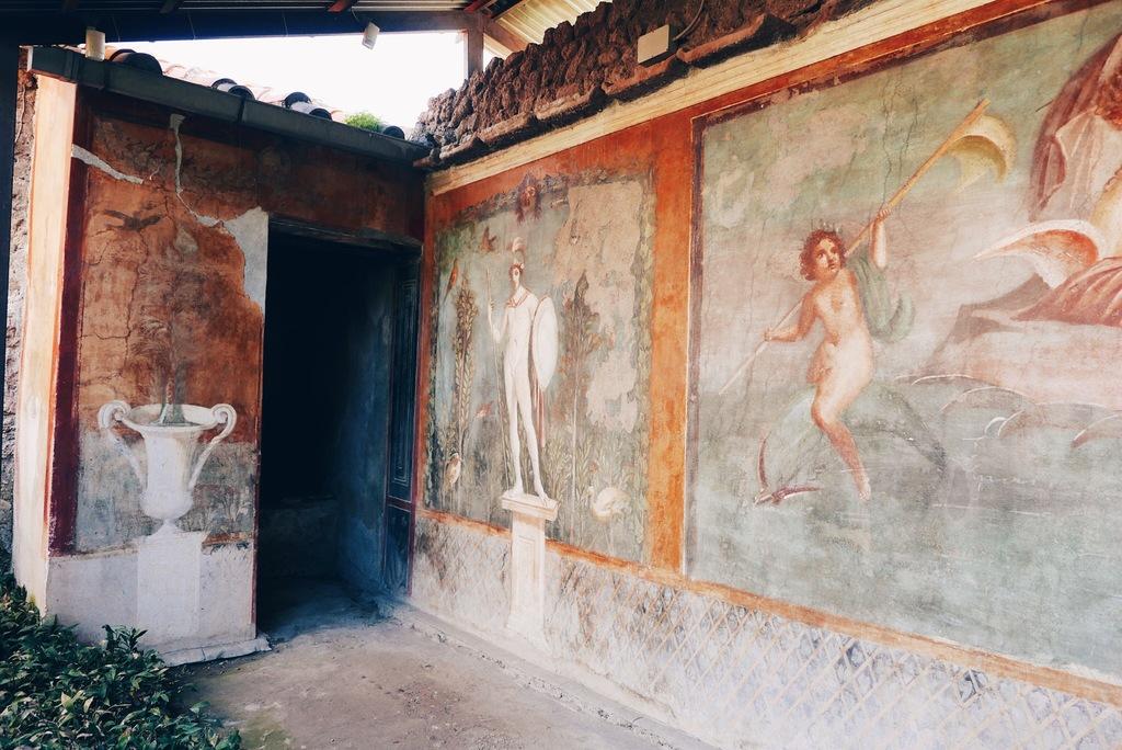 pompei linn ja ajalugu