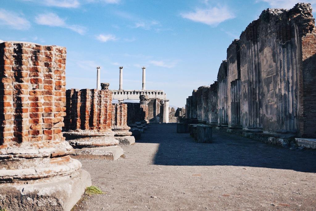 pompei linnakülastus itaalias