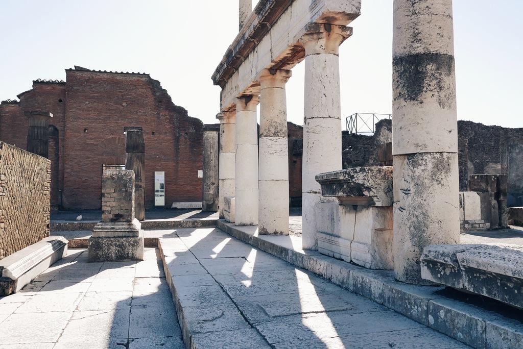 varemed pompei linnas