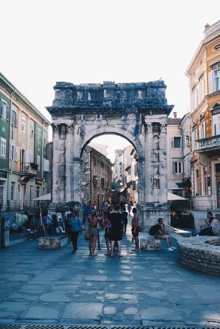horvaatia linnad